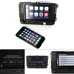 Noname Android Auto CarPlay RCD330 RCD340G RCD360 Car Stereo For VW Jetta Golf