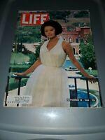 Life Magazine September 18 1964 - Sophia Loren Photograph in her New Villa-M264