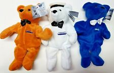 SS Titanic Beanie Bear 3 Bear Set Collection Dart Limited Ed. NOS Captain Smith