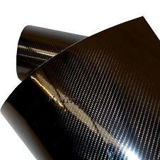 [22,20€/ m²] Carbon Auto Folie schwarz Glanz  Hochglanz PREMIUM 2D 3D 4D 5D