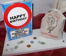 NEU Spardose Mäuse Geldgeschenke  Geburtstag Geburtstagsgeschenke Mann Geschenk