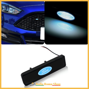 BADGE LUMINOSO FORD Impermeabile Griglia FIESTA FOCUS MUSTANG RANGER KUGA EDGE