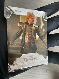 2021 Marvel Black Diamond Zachary Levi as Fandral 48/149 Thor the Dark World
