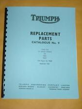 Parts Manual Fits 1964 Triumph Tiger Cub T20 T20ss T20sh A Range Book Catalog