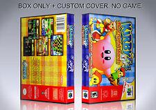 KIRBY 64. NTSC. Box/Case. Nintendo 64. BOX + COVER. (NO GAME).