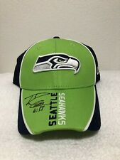 RUSSELL WILSON AUTOGRAPH SEATTLE SEAHAWKS NEW ERA NFL 9FORTY CAP NEW ADJUSTABLE