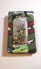NINJA TURTLES SHOWER CURTAIN Teenage Mutant Ninja Turtles Shower Curtain - NEW