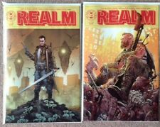 REALM #1 Both Covers A & B Image Comics Tony Moore NM