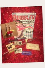 Luna Lovegood Set Halloween Costume Harry Potter Prop Cosplay Quibbler,Wand,Cork