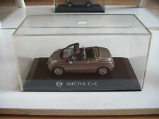 J collection Nissan Micra C+C in Bronze on 1:43 in Box