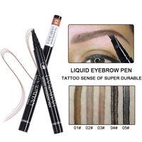 2018 New Microblading Eyebrow Tattoo Pen Waterproof Fork Tip Sketch Ink Makeup
