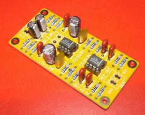 XLR to RCA Balanced to Unbalanced Pre-amplifier Headphone Amp Low Distortion