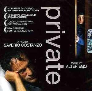Private O.S.T. Original Soundtrack - Colonna Sonora Originale - Alter Ego CD