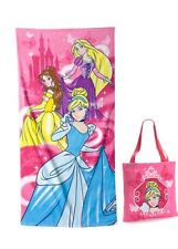 DISNEY PRINCESSES BEACH TOWEL AND A REUSABLE TOTE ~DISNEY STORE ~ NEW 2014