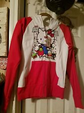 Sanrio Hello kitty hot topic 50th anniversary edition zip up  hoodie size large