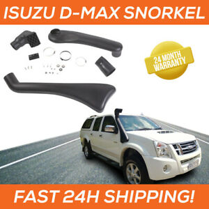 Snorkel / Schnorchel for Isuzu D-MAX 08 - 12 Dual Cab Raised Air Intake