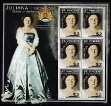 St. Vincent postfris 2004 MNH sheet - Koningin Juliana (XL119)