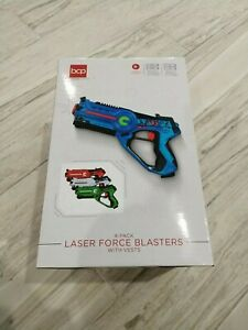 Best Choice Products SKY5062 Multiplayer Blaster and Vest - Set of 4 - RGBW NIB