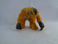 Gormiti Giochi Preziosi PVC Action Figure Mustard Yellow / Brown # 6