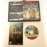 Final Fantasy XII PlayStation 2 PS2 Video Game Complete With Manual CIB