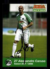 Alessandro Caruso Autogrammkarte VFB Lübeck 2007-08 Original Signiert+A 132173