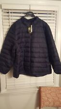 Mens Champion C9 Puffer Jacket Navy Blue Big & Tall Size 2XB New with Tags