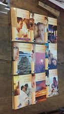Lot de 9 livres Harlequin collection émotions la maison du lac une page d'amour