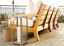 5 Pc A Grade Teak Wood Outdoor Teakwood Patio Sectional Sofa Set Pool Atnas New