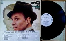 FRANK SINATRA - GREATEST HITS / EARLY YEARS VOL. 2 - COLUMBIA LP - WHITE LBL PRO