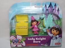 Lady  Knight Dora The Explorer Fisher Price Nickelodeon Playset New