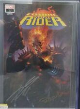 Cosmic Ghost Rider #1 Marvel Parrillo Variant Cvr A Signed 2x CGC SS Graded 9.8
