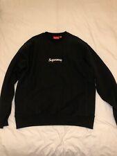 Supreme FW18 Box Logo Crewneck - Black - Size XL