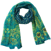 Fashion Women Ladies Floral Flower Print Scarf Soft Wrap Long Shawl Stole SS3