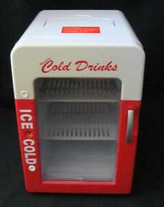 Refreshing Ice Cold Drinks Mini Refrigerator Cooling or Heating Coca Cola Coke??