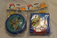 Wile E Coyote/Road Runner Roadrunner Cantoons Canteen Blue Looney Tunes 1992