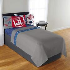 Justice League Twin Size Sheet Set With 1 Pillowcase, Batman, Superman And More