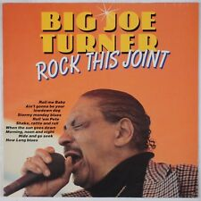 BIG JOE TURNER: Rock This Joint CLEO Import Germany Vinyl LP R&B VG++