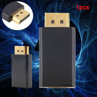 Display Ports DP Male To HDMI Female Adapter Converter Connector For PC HDTV NEW