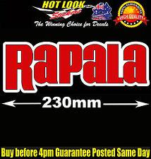 Rapala Lure Fishing Boat Sticker for Camping Tandem Trailer Caravan Bar Fridge