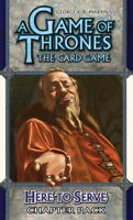A Game of Thrones AGOT LCG - Here to Serve Chapter Pack (New) Living Card Game
