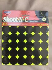 1 inch targets x 432 of them Birchwood Casey Shoot N C Rifle and Pistol high viz