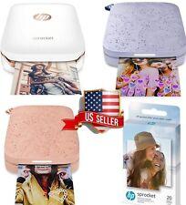 HP Sprocket I Select I Portable Photo Printer 20/40/80/100 Paper Sheet SEALED
