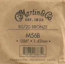 Martin & Co. - M56B - Corde à l'unité pour guitare acoustique - Bronze