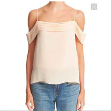 T BY ALEXANDER WANG Cold Shoulder Top- Size 4- Blush- $315