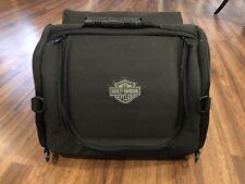 Rare Harley Davidson Motorcycle Tail Bag w Straps Saddlebag Helmet Bag