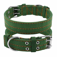 XL Large Dog Collar Pet Puppy Nylon Collars Neck Adjustable for German Shepherd
