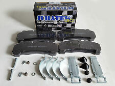 FOR MANN TGA TGM TGS TGX FRONT or REAR HEAVY DUTY BRAKE PADS WITH FITTING KIT