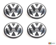 NUOVO Originale VW Transporter Touareg Lega Ruota Centro HUB Tappo Logo 70MM 4PCS