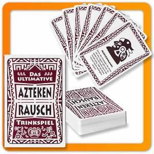 Party Trinkspiel XL Aztekenrausch - Ultimative Kartenspiel Saufspiel Partyspiel