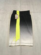 REEBOK ATHLETIC SHORTS SLIM MEN'S SIZE SMALL BLACK POLYESTER BLEND